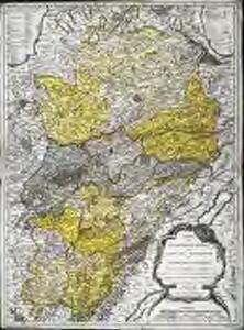 Carte du gouvernement général du comté de Bourgogne ou Franche-Comté