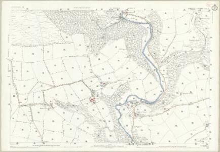 Somerset LVII.11 (includes: Brompton Regis; Dulverton; Exton; Winsford) - 25 Inch Map
