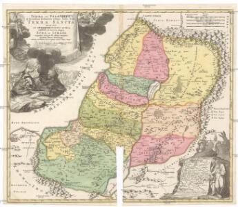 Iudaea seu Palaestina ob sacratißima redemtoris vestigia hodie dicta Terra Sancta
