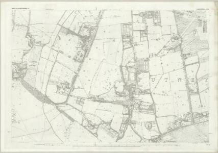 London (First Editions c1850s) LXXII (includes: Mortlake; Wandsworth Borough) - 25 Inch Map