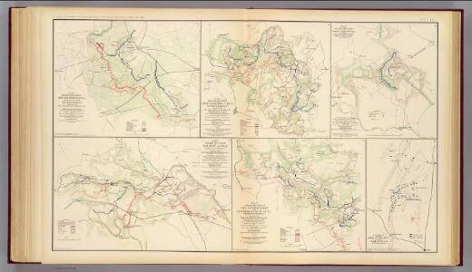 Wilderness, Va.; Spotsylvania C.H.; Todd's Tavern; North Anna; Totopotomoy, Bethesda Ch., Dalton, Ga.