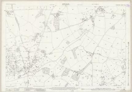 Shropshire XIX.5 (includes: Oswestry Rural) - 25 Inch Map