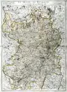 Le duché de Bourgogne et partie de la Bresse
