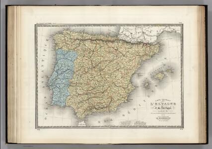 Espagne, Portugal.