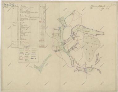 Přehledná mapa luk panství Kout