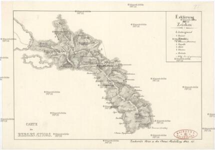 Carte des Berges Athos