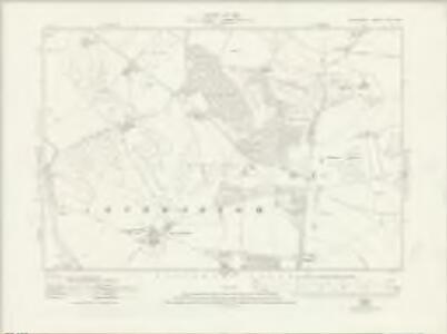 Wiltshire XLII.SW - OS Six-Inch Map