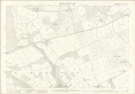 Caernarvonshire XXXII.14 (includes: Buan; Llannor; Nevin) - 25 Inch Map