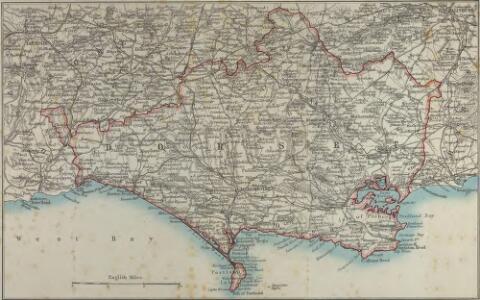 Map of Dorsetshire