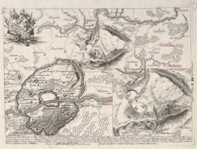 Battaille de Bergen près de Francfort gagneé par S. E. le Duc de Brogliè sur S. A. le Pr. Ferdinand le 13. Avril 1759