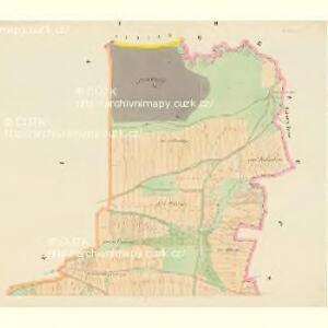Dobschitz - c1223-1-001 - Kaiserpflichtexemplar der Landkarten des stabilen Katasters