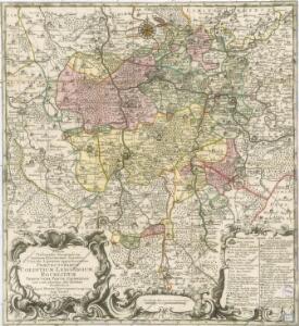 Exacta Delineatio Geographica... Praefecturarum Colditium, Leissnigium, Rochlitium...