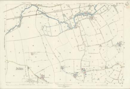 Suffolk LXXI.8 (includes: Belchamp St Paul; Cavendish; Clare; Pentlow) - 25 Inch Map