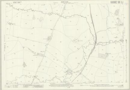 Gloucestershire XV.3 (includes: Batsford; Blockley; Stretton on Fosse; Todenham) - 25 Inch Map