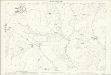 Sussex XIX.14 (includes: Ticehurst) - 25 Inch Map