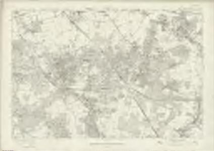 London Sheet T - OS Six-Inch Map