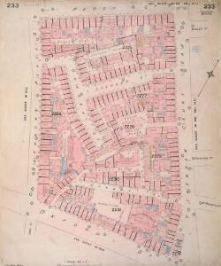 Insurance Plan of London Vol. IX: sheet 233