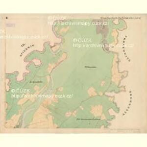 Gross Koschatka - m1295-1-002 - Kaiserpflichtexemplar der Landkarten des stabilen Katasters