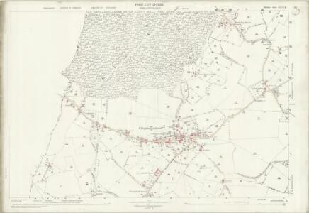 Wiltshire XLIV.14 (includes: Berkley; Chapmanslade; Corsley; Dilton Marsh; Selwood; Upton Scudamore) - 25 Inch Map