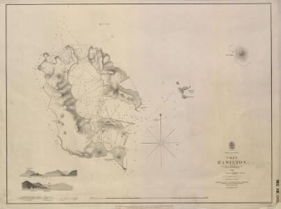 Port Hamilton Surveyed by Sir E Belcher 1845