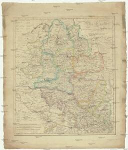 Die Lausitz nach astronomischen Ortsbestimmungen und den besten Hülfsmitteln