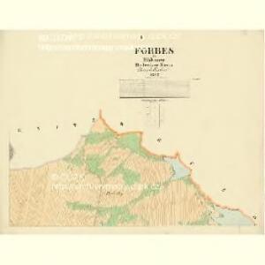 Forbes - c0390-1-001 - Kaiserpflichtexemplar der Landkarten des stabilen Katasters