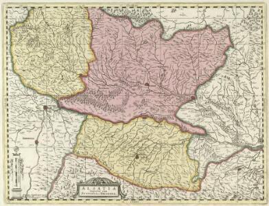 Alsatia Superior cum Svntgoia et Brisgoia
