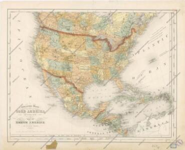 Special -Karte der Vereinigten Staaten von Nord - America No 16.