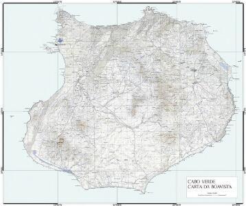 Cabo Verde Carta da Boavista