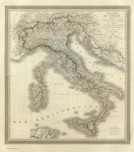 Composite:  Carte Generale de L'Italie.