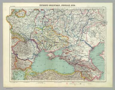 Europe Orientale, Feuille Sud.