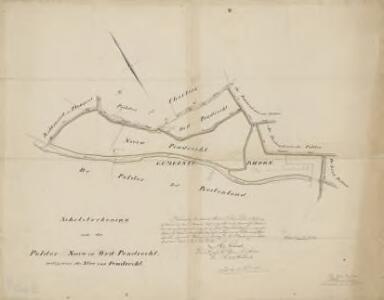 Polder Nieuw- en Oud-Pendrecht en de Stee van Pendrecht, gemeente Rhoon.