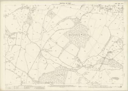 Kent LXV.11 (includes: Brabourne; Mersham; Smeeth; Wye) - 25 Inch Map
