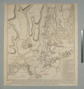 A plan of New York Island, with part of Long Island, Staten Island & east New Jersey : with a particular description of the engagement on the woody heights of Long Island, between Flatbush and Brooklyn, on the 27th of August 1776 between His Majesty'