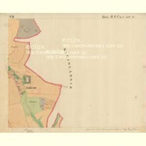 Trschitz - m3142-1-009 - Kaiserpflichtexemplar der Landkarten des stabilen Katasters