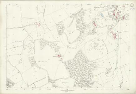Gloucestershire XIII.6 (includes: Alderton; Dumbleton; Toddington) - 25 Inch Map