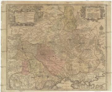 Amplissima Ucraniae regio, palatinatus Kioviensem et Braclaviensem complectens, cum adjacentibus provinciis