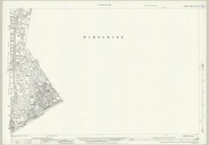Dorset XLIV.15 (includes: Bournemouth; Poole) - 25 Inch Map
