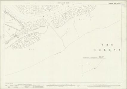 Hampshire and Isle of Wight LXXXI.15 & 16 (includes: Beaulieu; Exbury) - 25 Inch Map