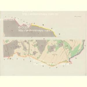 Bärnwald (Baernwald) - c5052-1-004 - Kaiserpflichtexemplar der Landkarten des stabilen Katasters