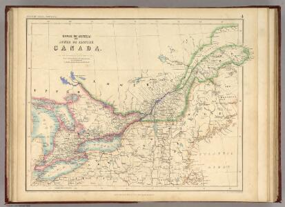 Upper Or Western And Lower Or Eastern Canada.