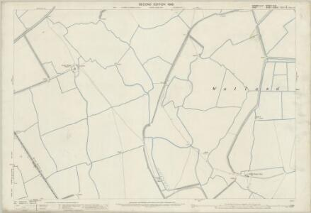 Sussex XLVI.1 (includes: Ivychurch) - 25 Inch Map