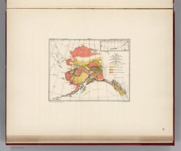 Facsimile:  Petroof's Map of Alaska and Adjoining Regions: Timber, Tundra & Glaciers.