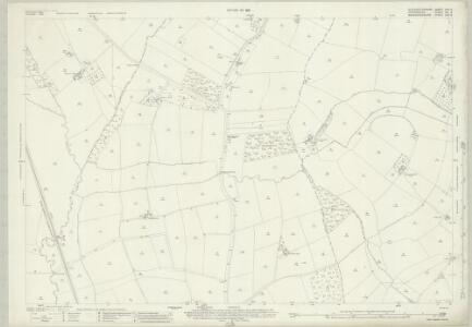 Gloucestershire XXII.3 (includes: Chastleton; Evenlode; Longborough; Moreton in Marsh) - 25 Inch Map