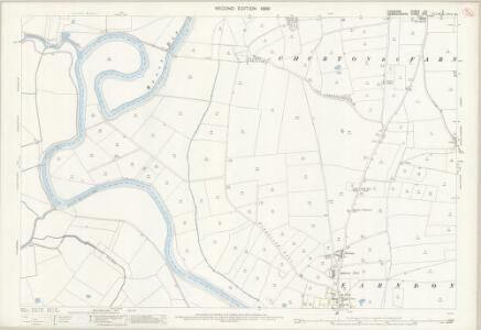 Cheshire LIII.7 (includes: Allington; Churton by Farndon; Farndon; Holt) - 25 Inch Map