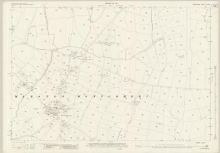 Derbyshire XLVII.8 (includes: Cubley; Marston Montgomery) - 25 Inch Map