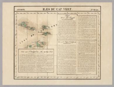 Iles du Cap Vert. Afrique 18 bis.