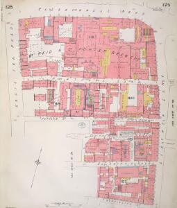 Insurance Plan of London Vol. VI: sheet 125