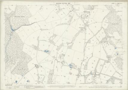 Sussex XV.3 (includes: Ardingly; West Hoathly) - 25 Inch Map
