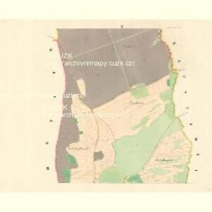 Ober Tieschitz (Hornitiessice) - m0832-1-002 - Kaiserpflichtexemplar der Landkarten des stabilen Katasters